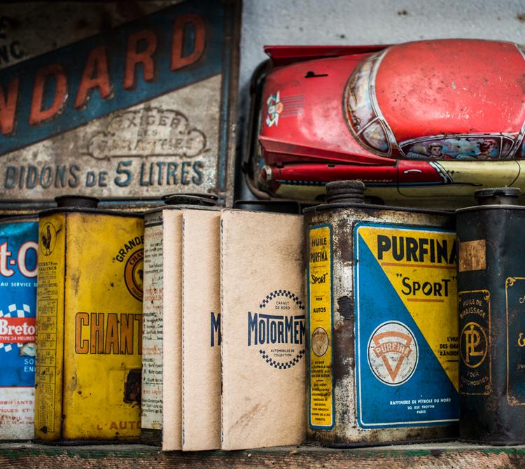 Motor Memo Voiture vintage